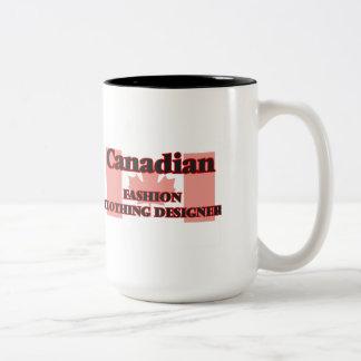 Canadian Fashion Clothing Designer Two-Tone Mug
