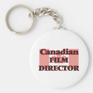 Canadian Film Director Basic Round Button Key Ring