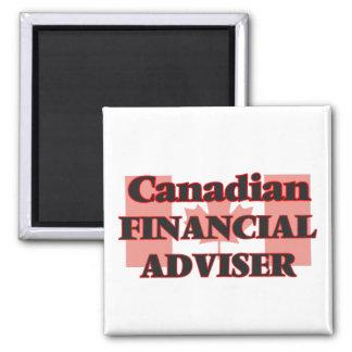 Canadian Financial Adviser Square Magnet
