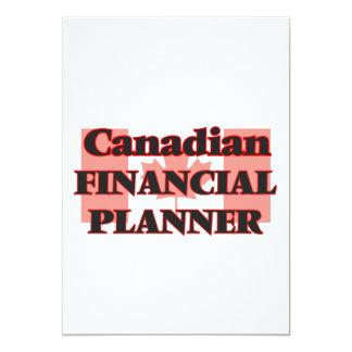 Canadian Financial Planner 13 Cm X 18 Cm Invitation Card