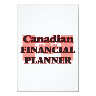 Canadian Financial Planner 9 Cm X 13 Cm Invitation Card