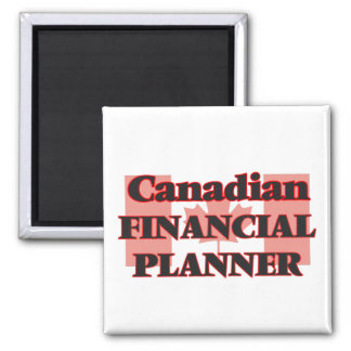 Canadian Financial Planner Square Magnet