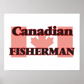 Canadian Fisherman Poster