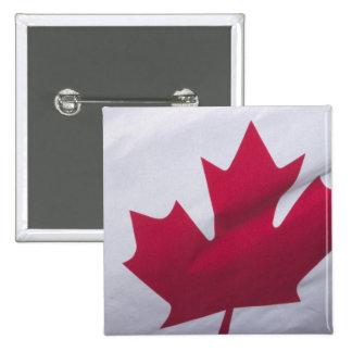 Canadian Flag. 15 Cm Square Badge