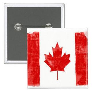 Canadian Flag 15 Cm Square Badge