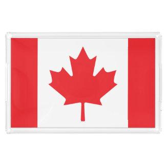 Canadian Flag Acrylic Tray