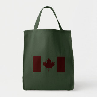 Canadian Flag Bags