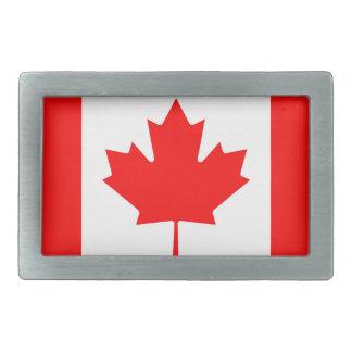 Canadian Flag Belt Buckles