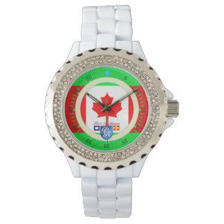 Canadian Flag Canada Port Richman Nautical Watch