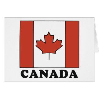 Canadian Flag Card