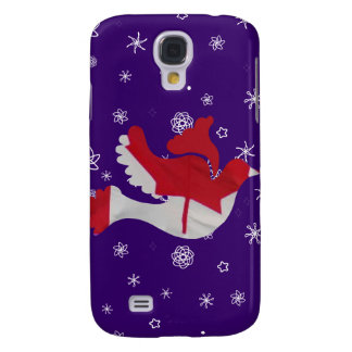 Canadian Flag Dove Galaxy S4 Case