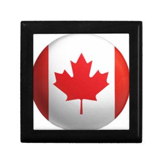 Canadian flag trinket box