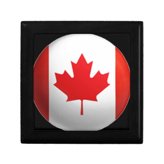Canadian Flag Gift Boxes