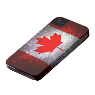 Canadian Flag iPhone 4 Case-Mate Cases