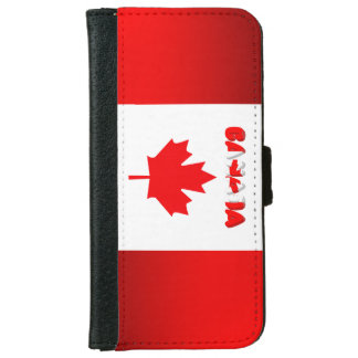 Canadian flag iPhone 6 wallet case