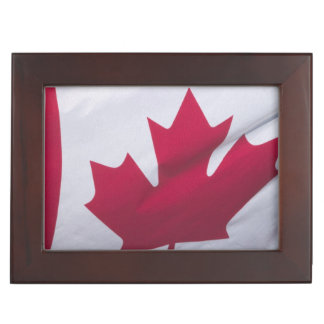Canadian Flag. Keepsake Box