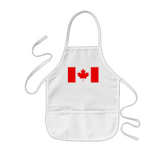 Canadian Flag Kids Apron