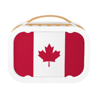 Canadian Flag Lunch Box