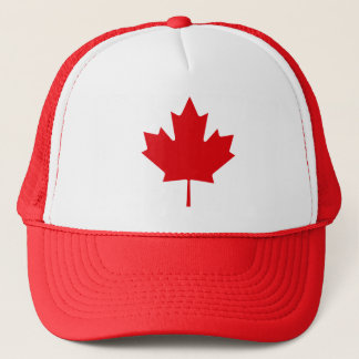 CANADIAN FLAG MAPLE LEAF HAT