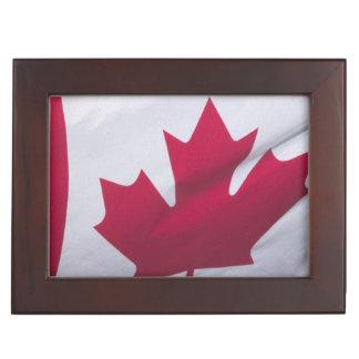 Canadian Flag. Memory Box