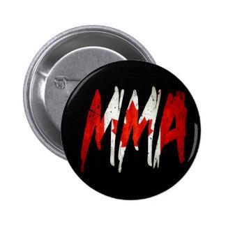Canadian Flag MMA 6 Cm Round Badge