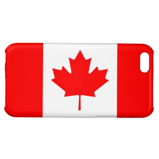 Canadian Flag of Canada Red Maple Leaf IPhone 5C iPhone 5C Covers