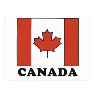 Canadian Flag Postcards