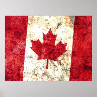 Canadian Flag Print