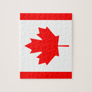 Canadian flag Puzzle