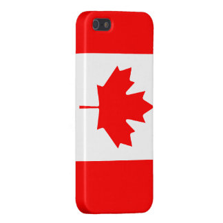 Canadian Flag Savvy iPhone 5 Glossy Finish Case For iPhone 5/5S