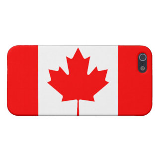 Canadian Flag Savvy iPhone 5 Matte Finish Cover For iPhone 5/5S