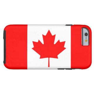Canadian Flag Tough iPhone 6 Case