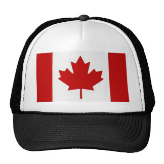Canadian Flag Truckers Mesh Hat