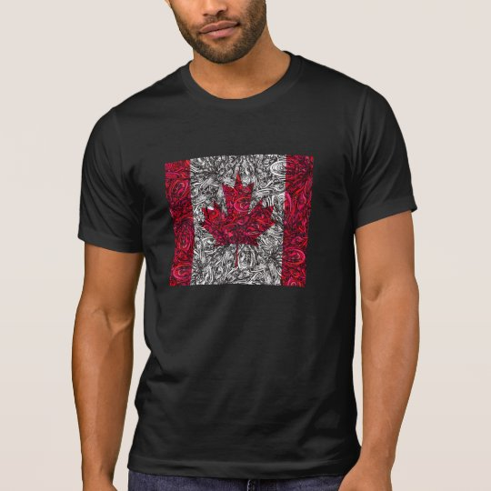 CANADIAN FLAG vs QUANTUM GOO T-Shirt