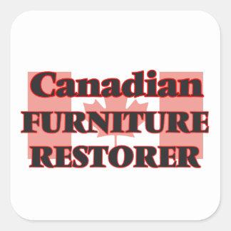Canadian Furniture Restorer Square Sticker