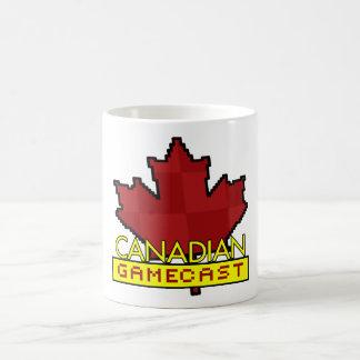 Canadian Gamecast Basic White Mug