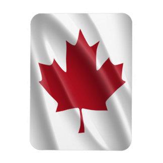 CANADIAN GAY PRIDE FLAG WAVY DESIGN VINYL MAGNET