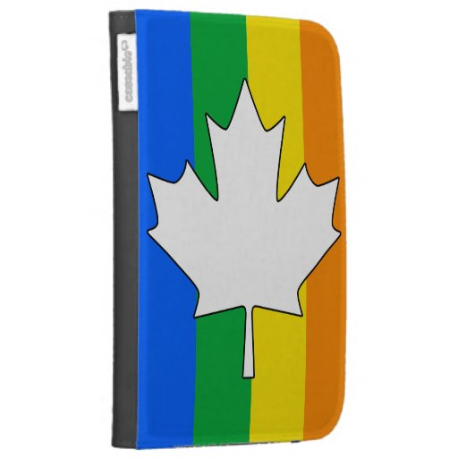 CANADIAN GAY PRIDE MAPLE KINDLE CASE