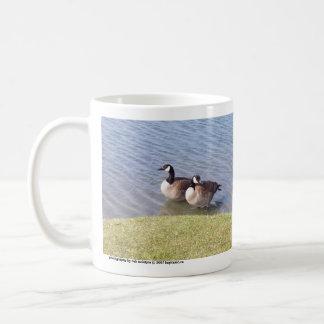 Canadian Geese along the Ottawa River Coffee Mug