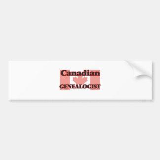 Canadian Genealogist Bumper Sticker