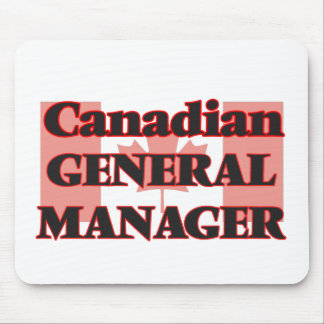 Canadian General Manager Mouse Pad