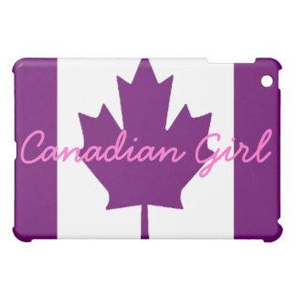 Canadian Girl iPad Mini Cover
