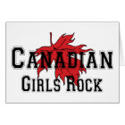 Canadian Girls Rock Card