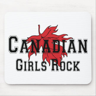 Canadian Girls Rock Mouse Mat
