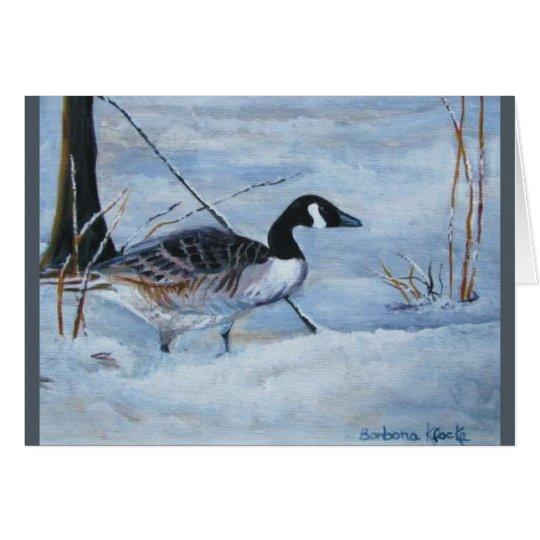 Canadian Goose Card