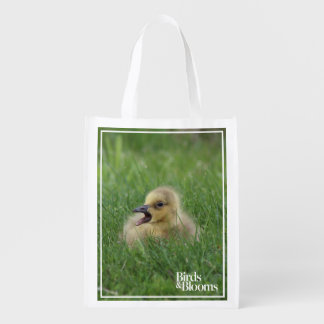 Canadian Goose Chick Reusable Grocery Bag
