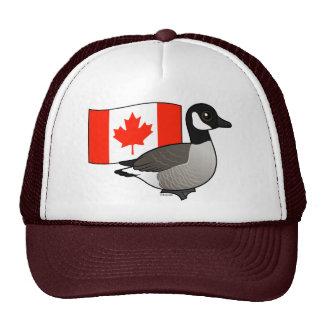 Canadian Goose & Flag Cap