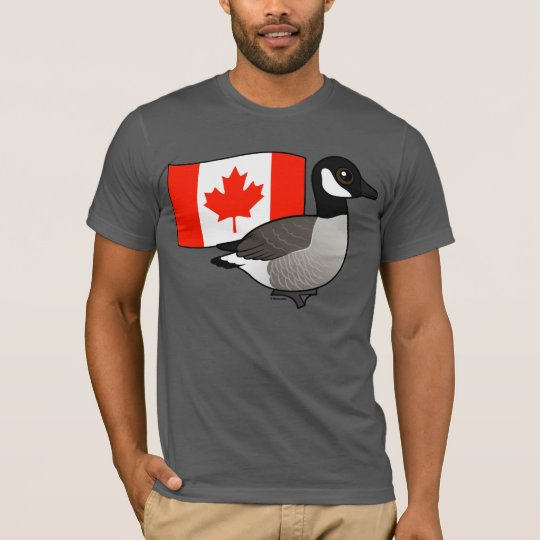 Canadian Goose & Flag T-Shirt