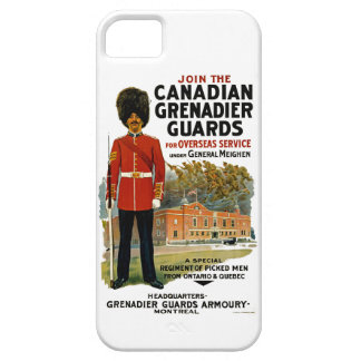 Canadian Grenadier Guards iPhone 5 Cases