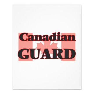 Canadian Guard 11.5 Cm X 14 Cm Flyer